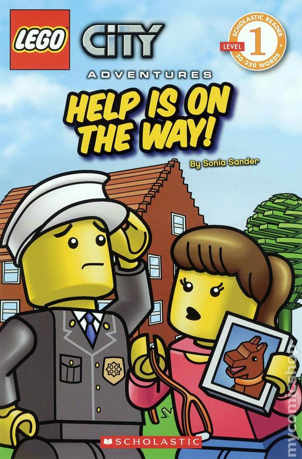 Comic books in 'Lego City Adventures GN'