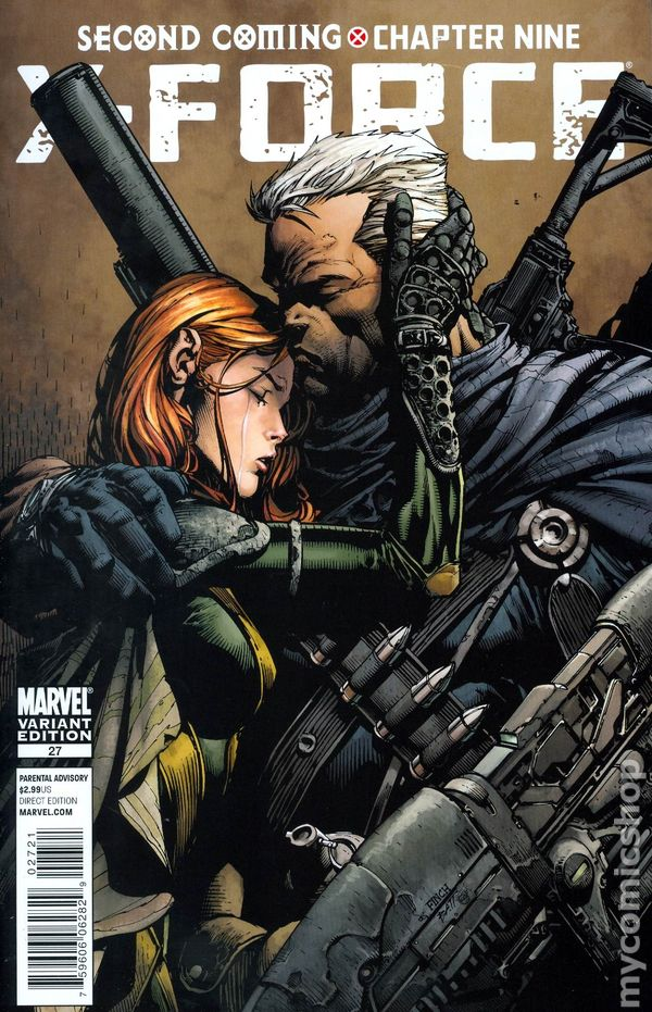 2008 Heroic Age COVER Back Issue X-FORCE #27