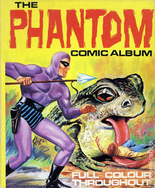 Phantom Comic Album TPB #2-1ST
