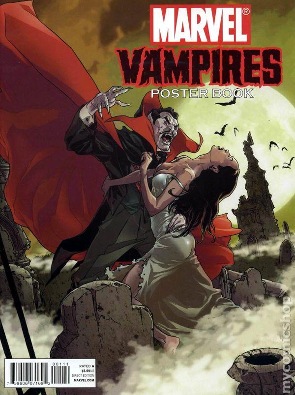 Marvel Vampires Poster Book (2010) comic books