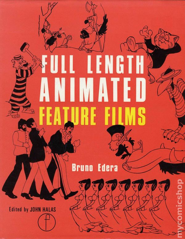 Full Length Animated Feature Films Hc 1977 Comic Books-3995