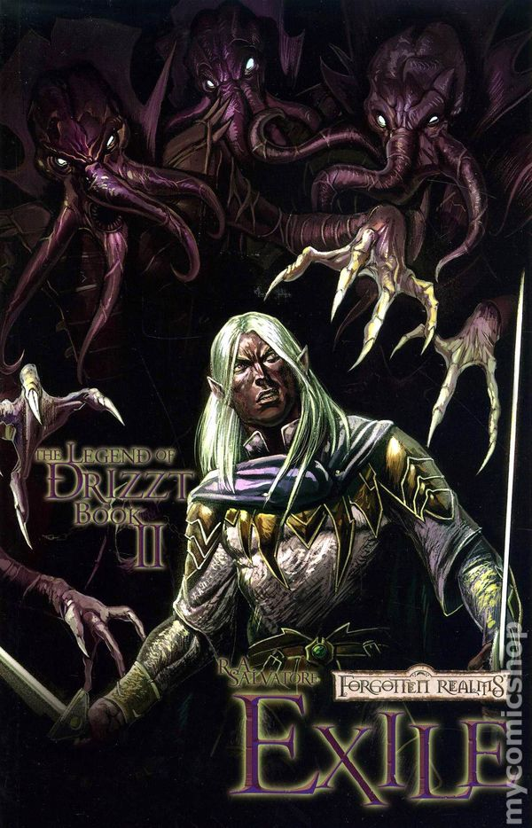 legend of drizzt graphic novel pdf