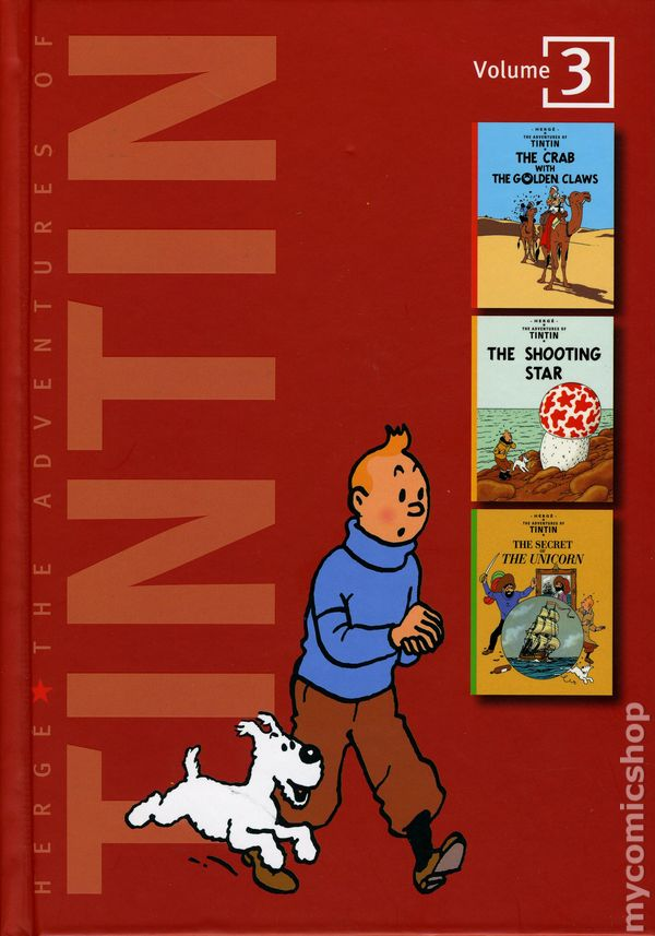 Adventures Of Tintin HC 2009 New Edition 3 REP