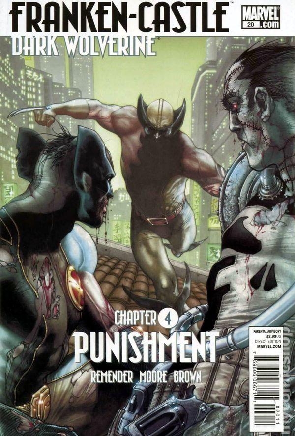 Comic books in 'Dark Wolverine vs. Punisher'