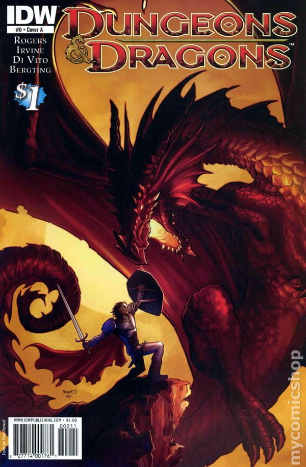 Dungeons and Dragons 2010 IDW 0A Comic