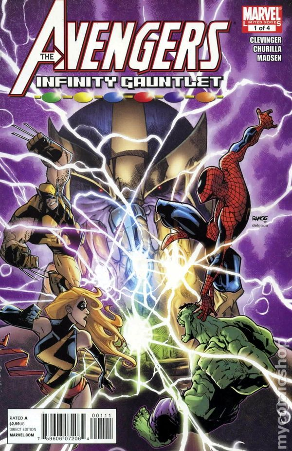 Avengers and the Infinity Gauntlet (2010) comic books
