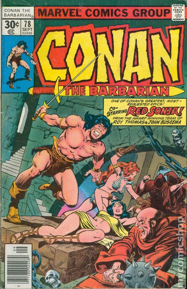 C >> Conan the Barbarian (1970 Marvel) Mark Jewelers comic books