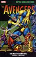 Avengers: The Masters of Evil TPB (2017 Marvel) Epic Collection 1-1ST