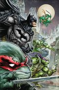 Batman/Teenage Mutant Ninja Turtles HC (2018 DC/IDW) Deluxe Edition 1-1ST