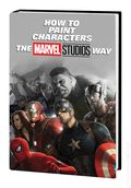 How to Paint Characters the Marvel Studios Way HC (2019 Marvel) 1-1ST