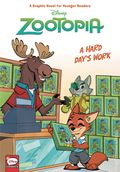 Zootopia A Hard Day's Work HC (2019 Dark Horse) Disney Comics 1-1ST