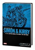 Timely's Greatest The Golden Age Simon and Kirby HC (2019 Marvel) 1A-1ST