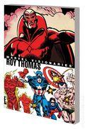 Marvel Visionaries Roy Thomas TPB (2019 Marvel) 1-1ST
