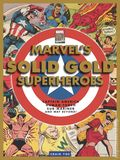 Marvel's Solid Gold Super-Heroes HC (2021 IDW) Captain America, Human Torch, Sub-Mariner and Way Beyond! 1-1ST