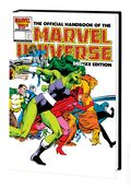 Official Handbook of the Marvel Universe Omnibus HC (2020 Marvel) Deluxe Edition 1A-1ST