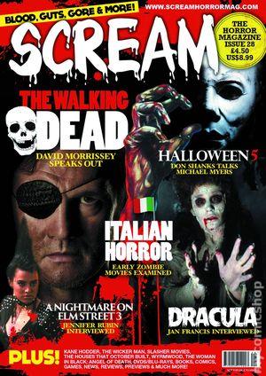 Scream The Horror Magazine (2010 Scream Magazine) comic books 2015