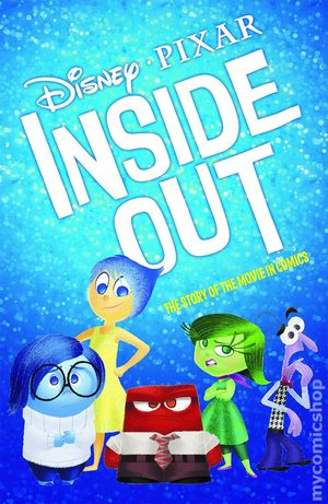 Inside Out 2015 Disney Pixar Comic Books