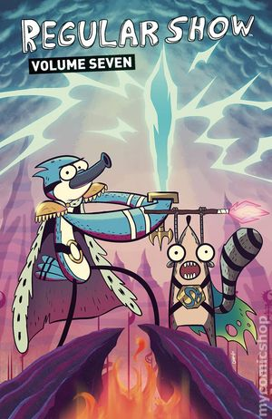 Regular show comics excellent idea